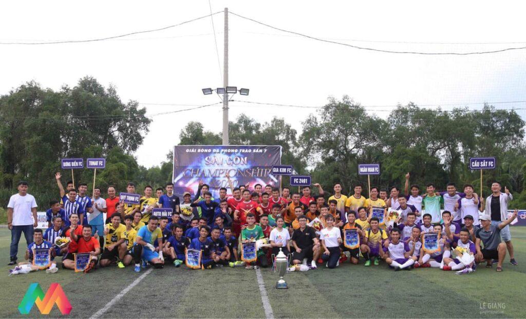 Lễ khai mạc giải Sài Gòn Championship 2020